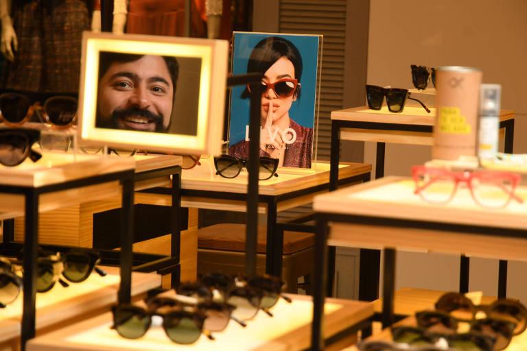 Kleber Araújo, master franqueado da marca de óculos Livo, em São Paulo