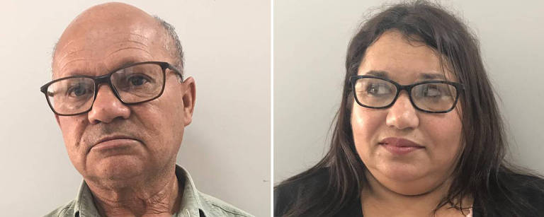 Retratos dos dois desempregados, tirados em posto de atendimento ao trabalhador no centro de SP