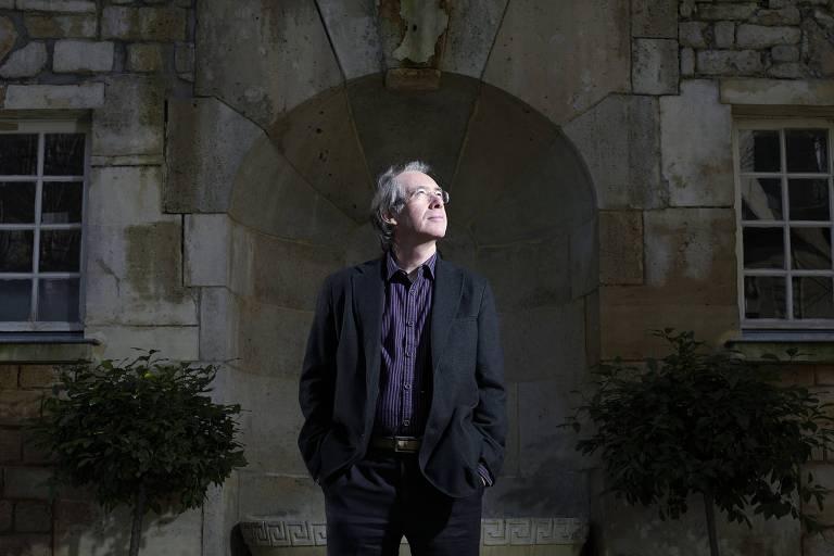 O escritor britânico Ian McEwan
