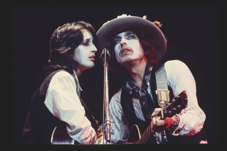 Bob Dylan em 'Rolling Thunder Revue'