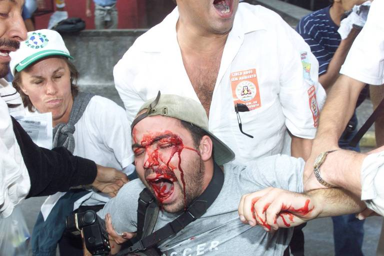 Marco Aurélio, do STF, responsabiliza polícia por ferimento a jornalista em manifestação