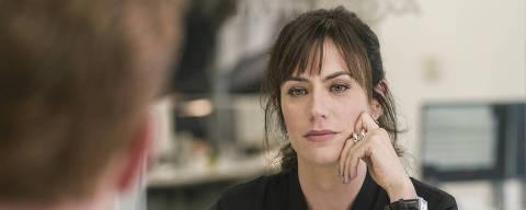 A psicóloga Wendy Rhoades (Maggie Siff), personagem da série Billions