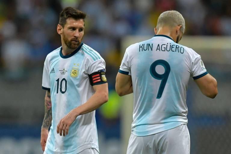 Ataque argentino ainda não funcionou nesta edição da Copa América