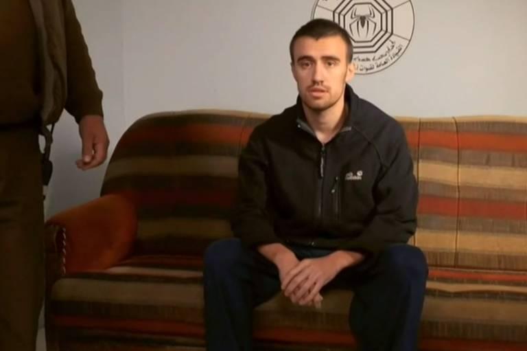 Jack Letts durante entrevista à rede britânica BBC, realizada em outubro de 2018