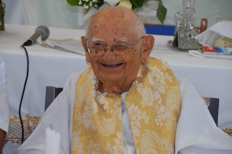 Monsenhor Ágio faleceu aos 101 anos, em Crato, no Ceará