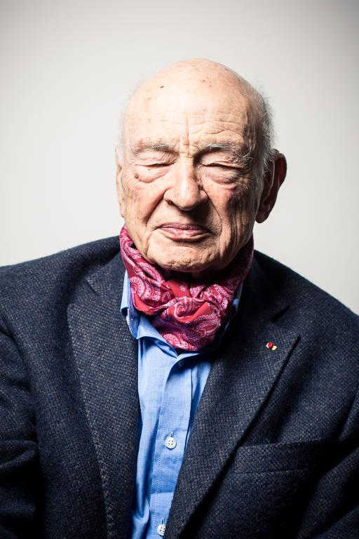 O pensador francês Edgar Morin