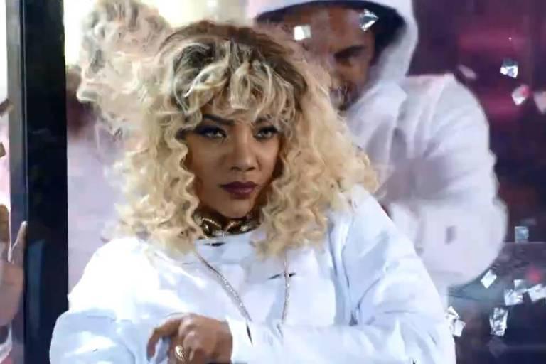 Ludmilla imita Rihanna no Show dos Famosos
