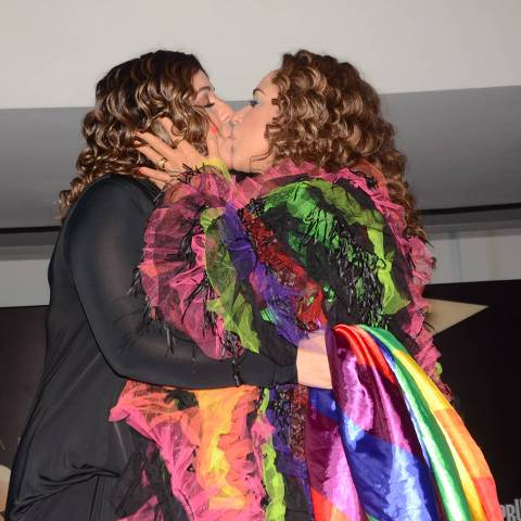 Daniela Mercury e sua mulher, Malu Verçosa na Parada Gay 2019