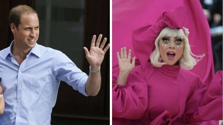 Lady Gaga incentiva Príncipe William a ajudar LGBTs desabrigados