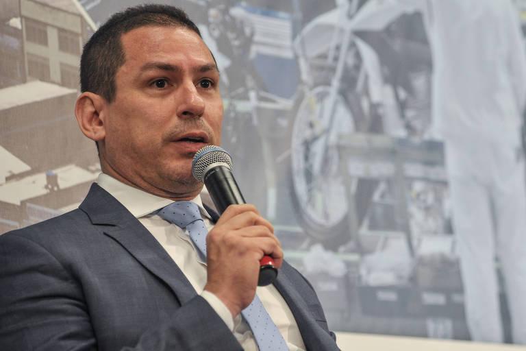 O deputado federal Marcelo Ramos (PL-AM), que articula projeto paralelo ao do governo para mudanças nos sindicatos