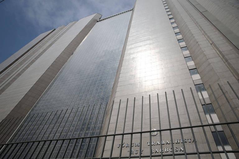 Fórum Trabalhista Ruy Barbosa, maior prédio do TRT da 2ª Região