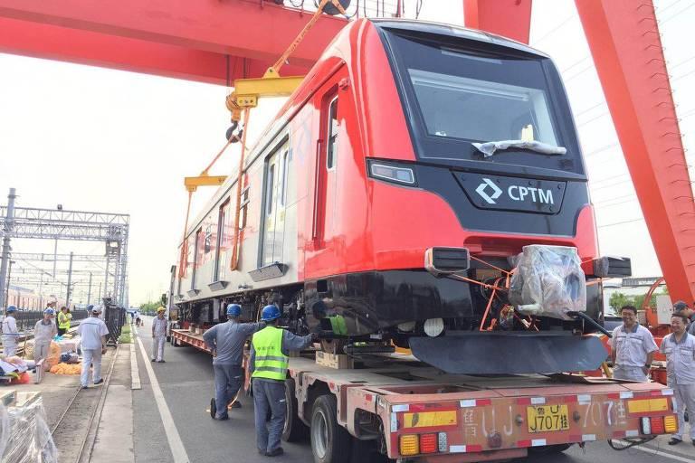 Novo trem da CPTM para Cumbica fica pronto na China