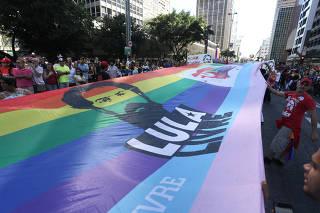 Parada LGBT em São Paulo