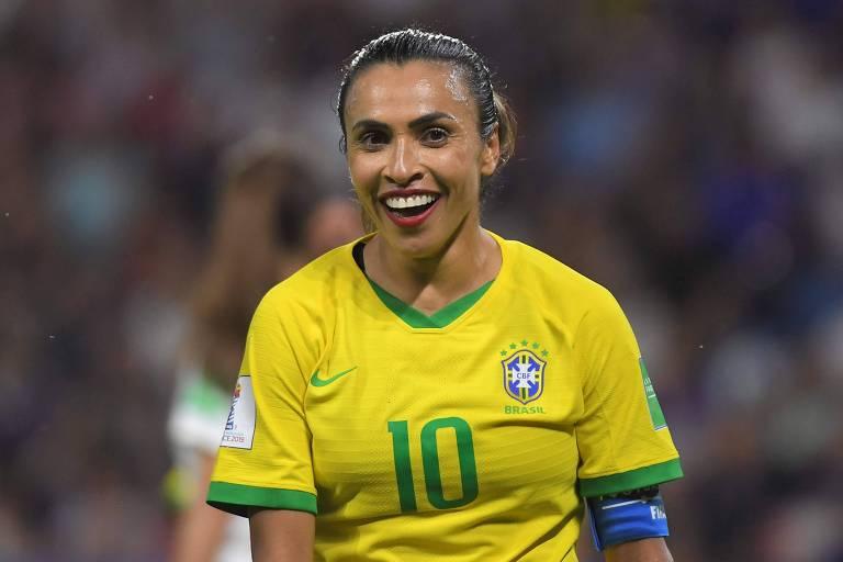 Não é exagero dizer que Marta é a maior jogadora de todos os tempos