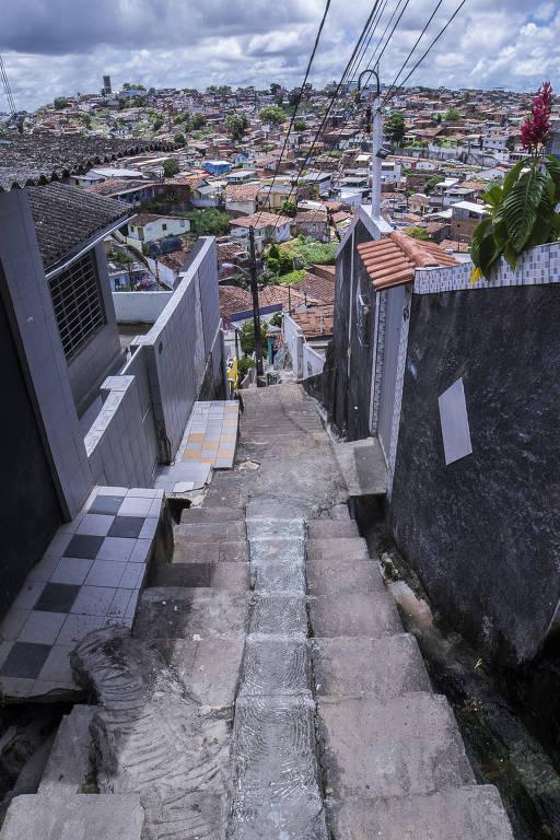 Escadarias pelo país