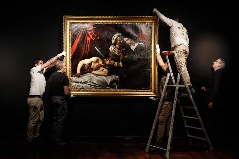 Veja imagens do quadro 'Judite e Holofernes'