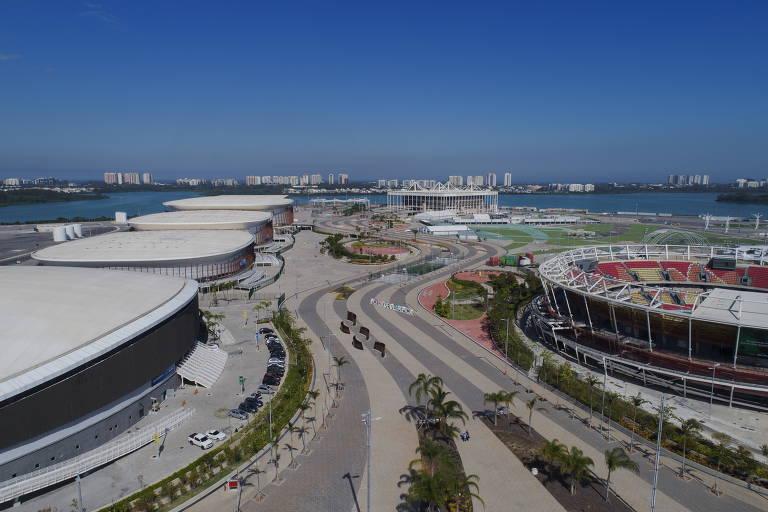 Vista do geral do Parque Olímpico do Rio de Janeiro