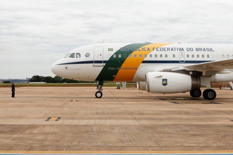 Avião da Força Aérea Brasileira em que o sargento viajou com 39 kg de cocaína