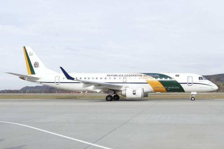 Avião da FAB usado como reserva em viagens presidenciais