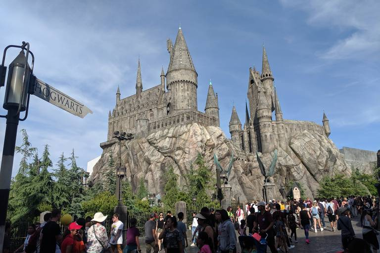 Parque de Harry Potter na Califórnia