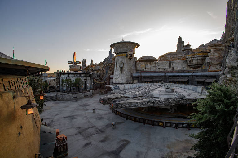 Parque de Star Wars na Califórnia