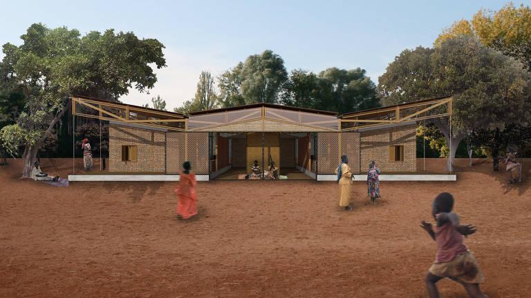 Por ser modular, o projeto da arquiteta Mariana Montag para a Casa de Jajja pode gerar ampliações ou replicações