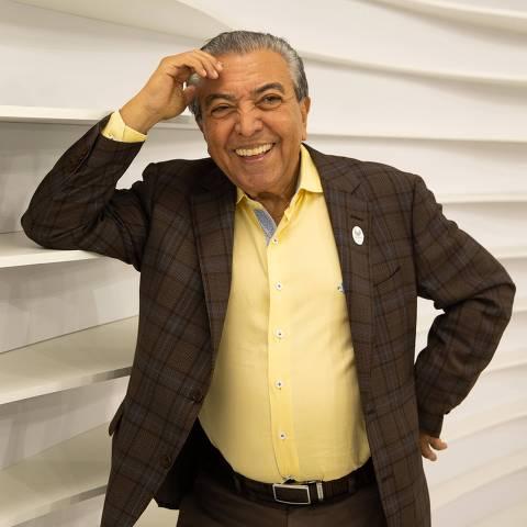 SAO PAULO, SP, BRASIL, 23.05.19 21h Mauricio de Sousa. Abertura da exposicao Entra Que La Vem Historia, que celebra os 50 anos da TV Cultura, no Shopping Eldorado.   (Foto: Marcus Leoni / Folhapress, MONICA BERGAMO)