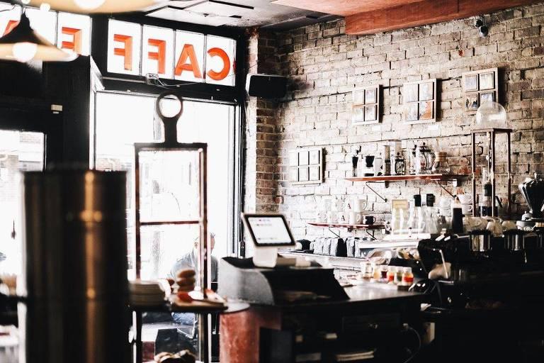 Cafeteria Caffe Vita, em Seattle, Estados Unidos
