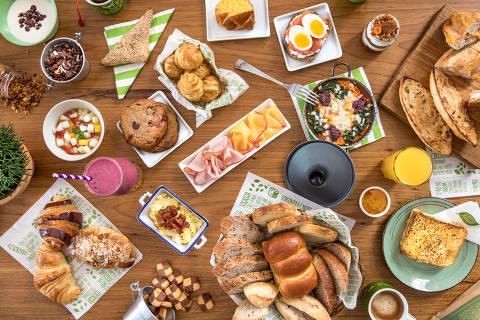 Café da Manhã  Padaria Empório Jardim & Café
