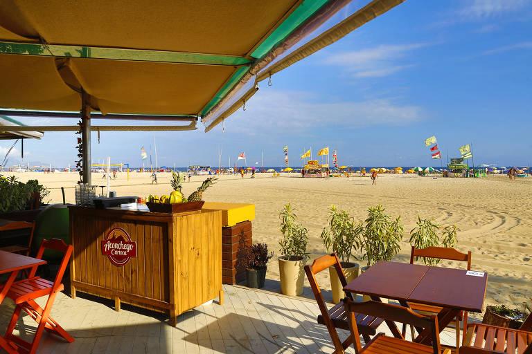 Confira os melhores quiosques de praia para comer no Rio