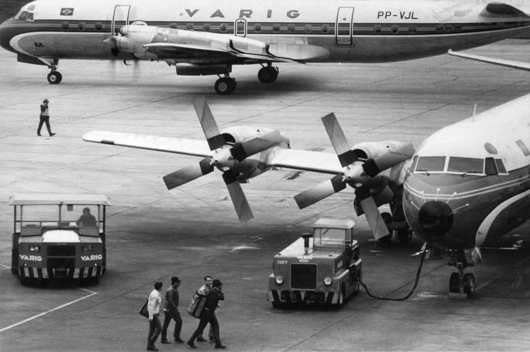 60 anos da ponte aérea Rio-São Paulo