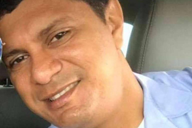 O segundo-sargento da Aeronáutica Manoel Silva Rodrigues, preso em Sevilla, na Espanha, por transportar cocaína