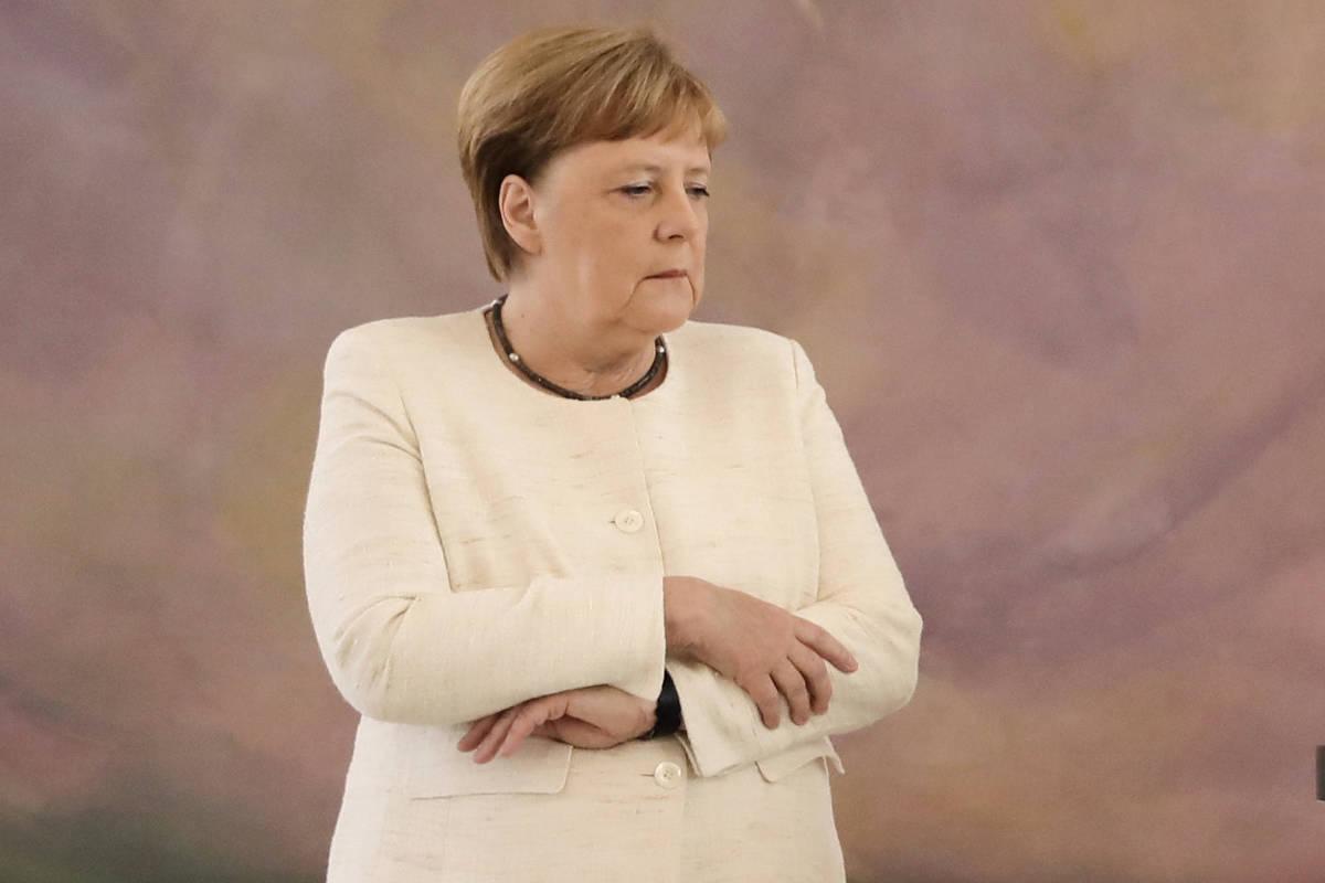 Chanceler alemã tem segundo episódio de tremores em dez dias