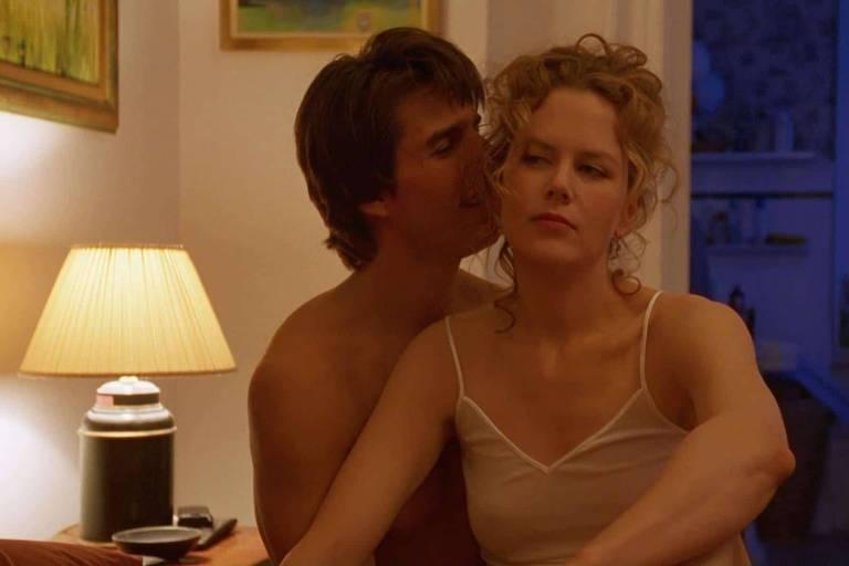 """Cena do filme """"De Olhos Bem Fechados"""", um dos filmes mais famosos lançados em 1999"""