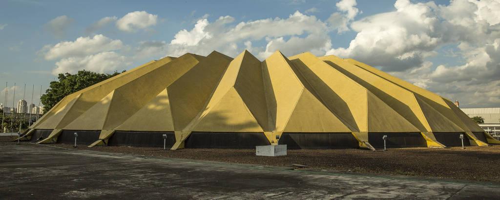 Auditório Celso Furtado faz parte das instalações do complexo do Anhembi, na zona norte de SP