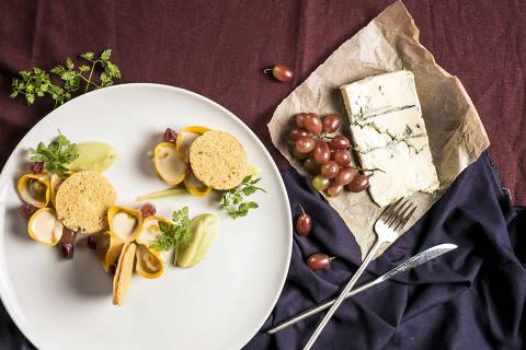 BRASIL - SAO PAULO - 02.05.2019 - O MELHOR DE SAO PAULO - Gastronomia - REVISTA SAO PAULO - Prato do restaurante Evvai - Tortelli de codorna. Foto: KEINY ANDRADE/FOLHAPRESS ORG XMIT: AGEN1905070106657370