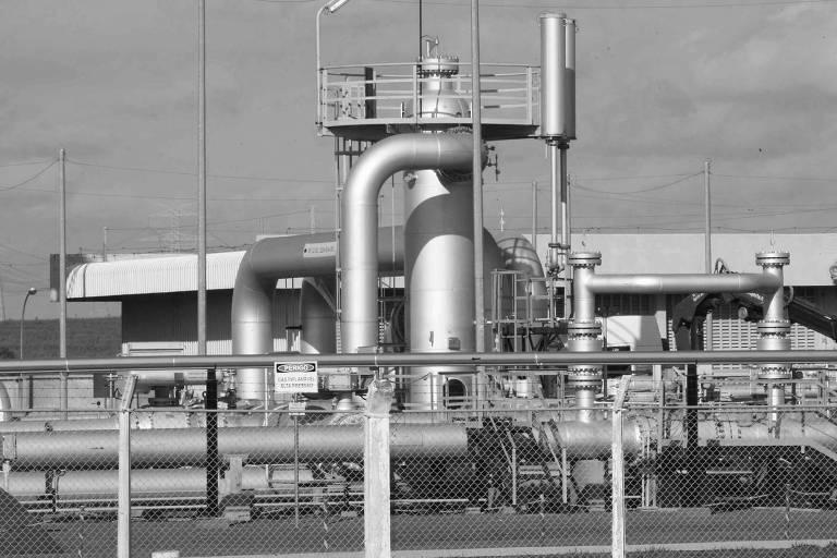 Estacão de compressão de gás natural em São Carlos (SP)