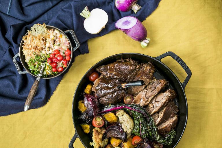 Balaio IMS, melhor restaurante de comida brasileira, mistura diversas culinárias nacionais
