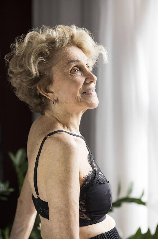 Executiva cria coleção de lingerie para mulheres mais velhas