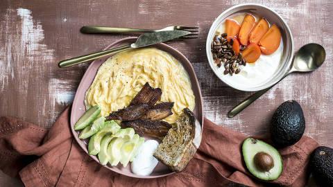 BRASIL - SAO PAULO - 10.05.2019 - O MELHOR DE SAO PAULO - Gastronomia - REVISTA SAO PAULO - Pratos do Futuro Refeitório. Foto: KEINY ANDRADE/FOLHAPRESS ORG XMIT: AGEN1905130041489551