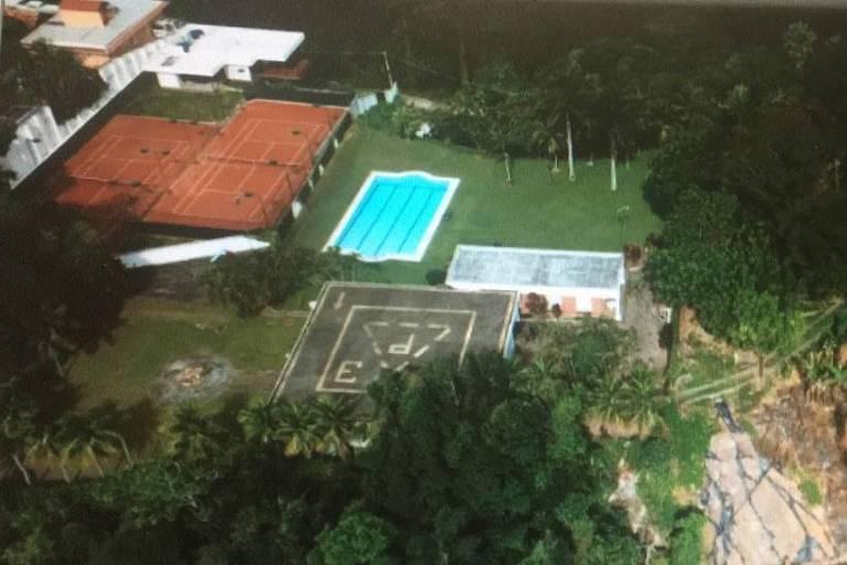 Lixão de mansão pode ter derrubado túnel no Rio