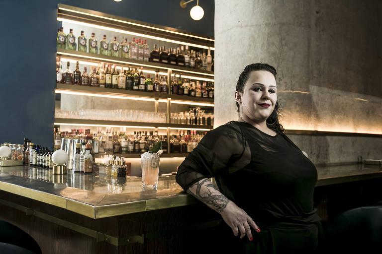 Júri de O Melhor de sãopaulo elege Michelly Rossi como melhor bartender