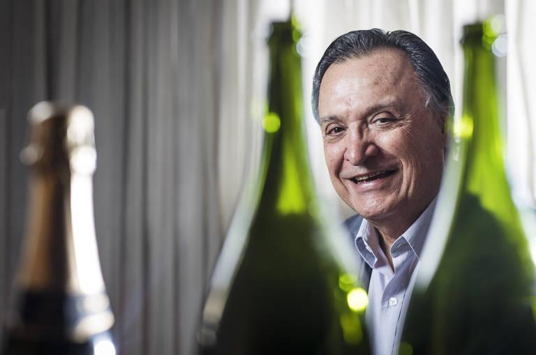 Mario Geisse  produz um dos espumantes mais cobiçados do Brasil