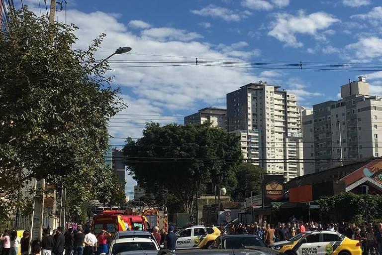 Explosão em apartamento em Curitiba deixa feridos