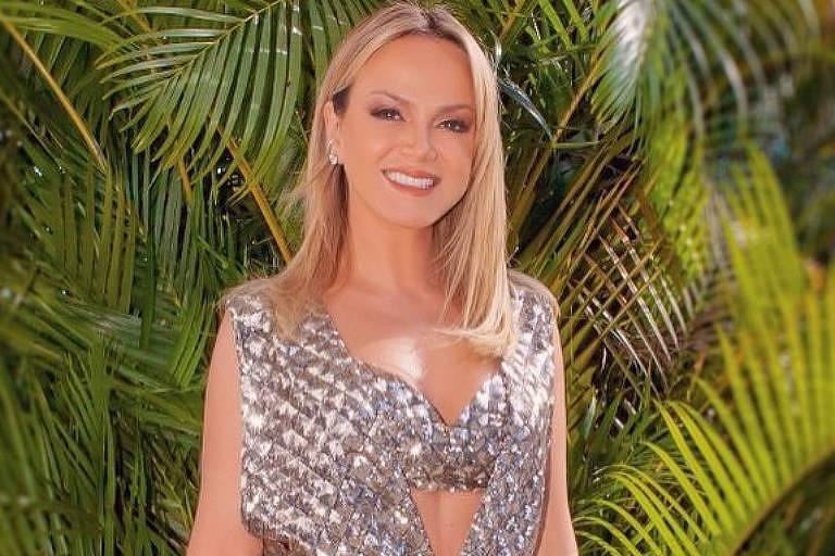 A apresentadora Eliana Michaelichen