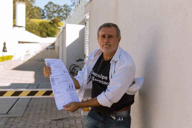 José Roberto Gonçalves, 58 anos, conta que é a terceira vez que solicita o benefício ao INSS, pois um vínculo trabalhista não está sendo reconhecido
