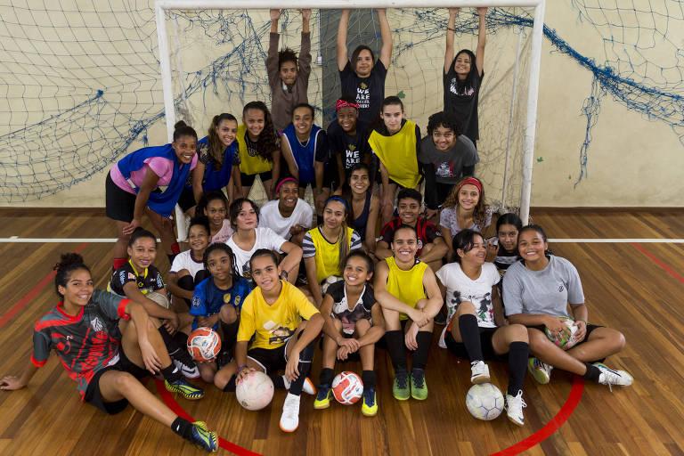 Futebol feminino na rede pública de ensino de São Paulo