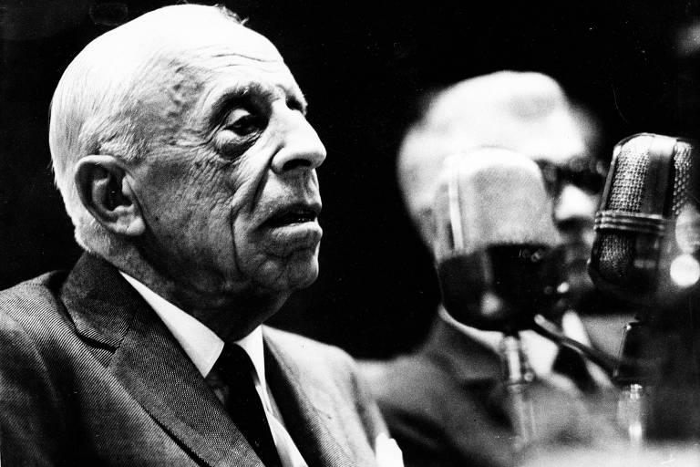 O economista Eugênio Gudin  (1886-1986)