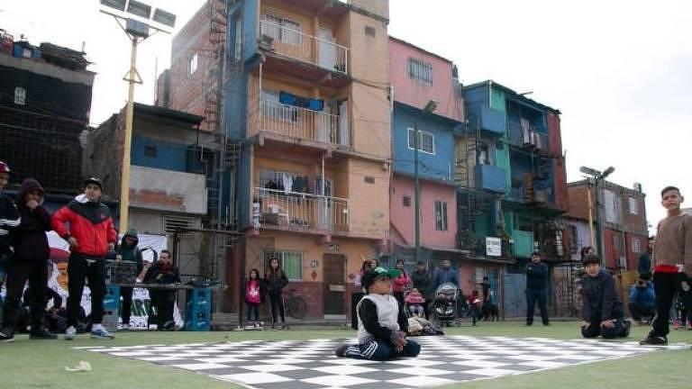 Construções em favela