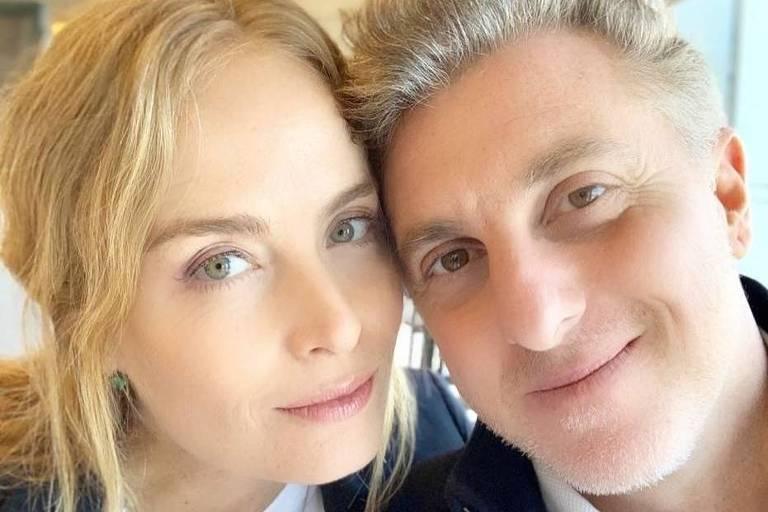 O casal de apresentadores Angélica e Luciano Huck